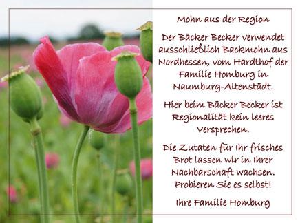 Backmohn aus Nordhessen